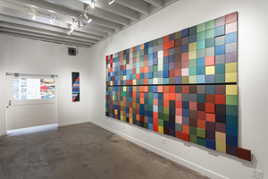 Year in Color/Lunar Cycles: Work by Carol Ladewig, Slate Contemporary